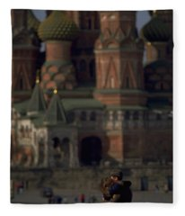 From Russia With Love Fleece Blanket