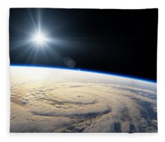 From Space Fleece Blanket