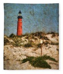 From The Beach Fleece Blanket