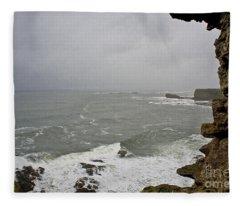 From The Castle Wall Fleece Blanket