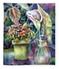 From The Garden Fleece Blanket