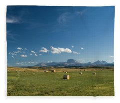 From The Prairie To The Rockies Fleece Blanket
