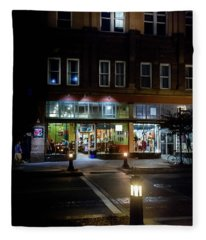 Front Street Crossing Fleece Blanket