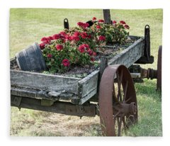 Front Yard Decor Fleece Blanket