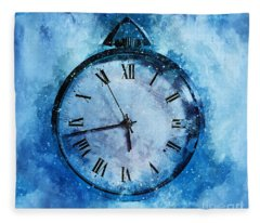 Frozen In Time Fleece Blanket