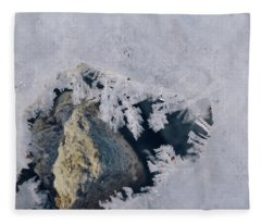 Frozen Rock Fleece Blanket