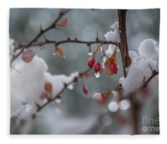 It's Berry Cold Fleece Blanket