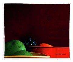 Fruit Art Photograph Fleece Blanket