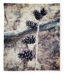 Fruit Of The Pine Fleece Blanket