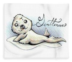 Fruit Of The Spirit Gentleness Fleece Blanket