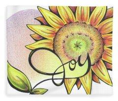 Fruit Of The Spirit Series 2 Joy Fleece Blanket