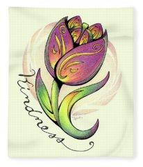 Fruit Of The Spirit Series 2 Kindness Fleece Blanket