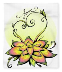 Fruit Of The Spirit Series 2 Love Fleece Blanket