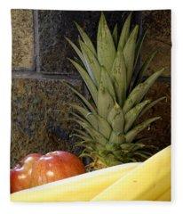 Fruit Pile Fleece Blanket