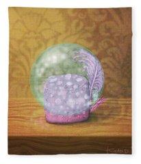 Ftf In A Bubble Fleece Blanket
