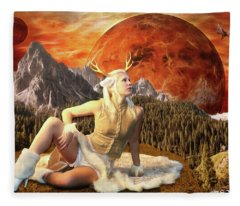 Fuan At Dawn Fleece Blanket