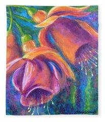 Fuchsia Fleece Blanket