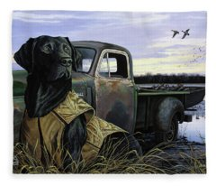 Fully Vested Fleece Blanket