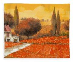 fuoco di Toscana Fleece Blanket