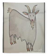 G Is For Goat Fleece Blanket