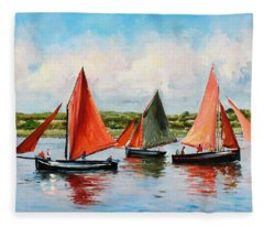 Galway Hookers Fleece Blanket