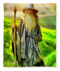 Gandalf, The  Grey Fleece Blanket