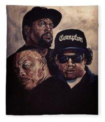 Gangsta Trinity Fleece Blanket