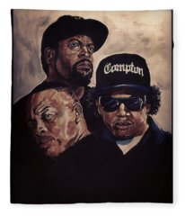 Gangsta Trinity Fleece Blanket