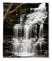 Ganoga Falls Fleece Blanket