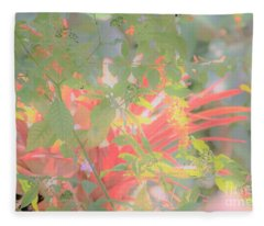 Garden Beauty Fleece Blanket