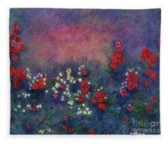Garden Of Immortality Fleece Blanket