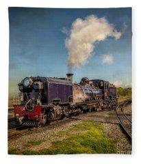 Garratt No. 87 Loco Fleece Blanket
