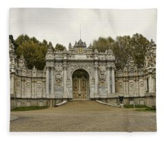 Gate Of The Treasury Fleece Blanket