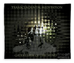 Gatekeeper Of The Mind Fleece Blanket
