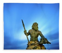 Gateway To The Sea Fleece Blanket