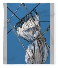 Gathered Sail Fleece Blanket