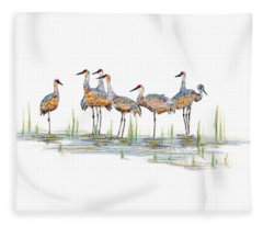 Gathering Fleece Blanket