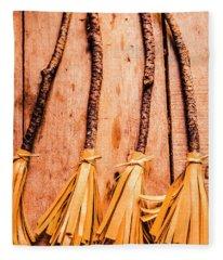 Broom Fleece Blankets