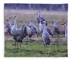 Gathering Fleece Blanket