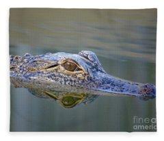 Gator Fleece Blanket