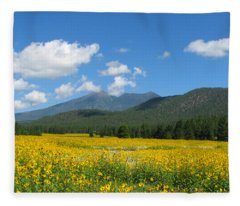 Gazing Serene Fleece Blanket