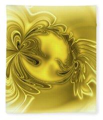 Gemstone Gold Fleece Blanket