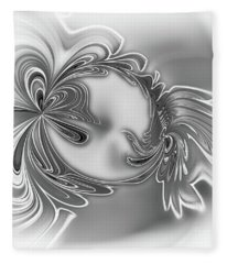 Gemstone Silver Fleece Blanket