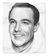 Gene Kelly 23aug18 Fleece Blanket