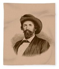 General John Hunt Morgan Fleece Blanket
