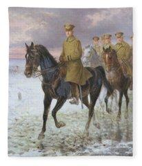 General John J Pershing  Fleece Blanket