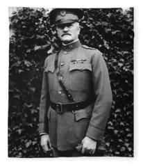General John J. Pershing Fleece Blanket