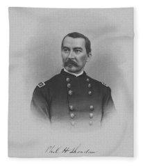 General Philip Sheridan Fleece Blanket