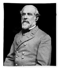 General Robert E Lee - Csa Fleece Blanket