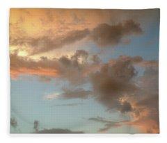 Gentle Clouds Gentle Light Fleece Blanket